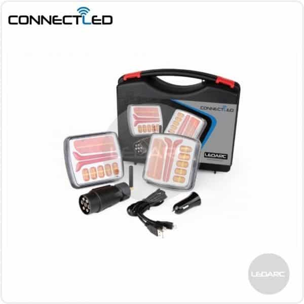 ConnectLED wireless rear LED trailer lights kit, 12V, ECE approved