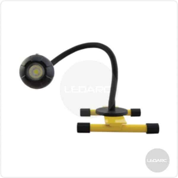 Eye-Light Plus Rechargeable LED Floodlight with magnetic gooseneck mount