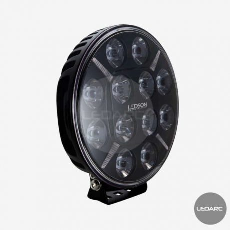 POLLUX9 Round LED driving lamp, 9-36V, ECE R112 approved