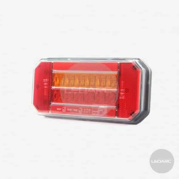 165BT series LED Combination Trailer Lamp, 3 functions, 12/24V, ECE approved