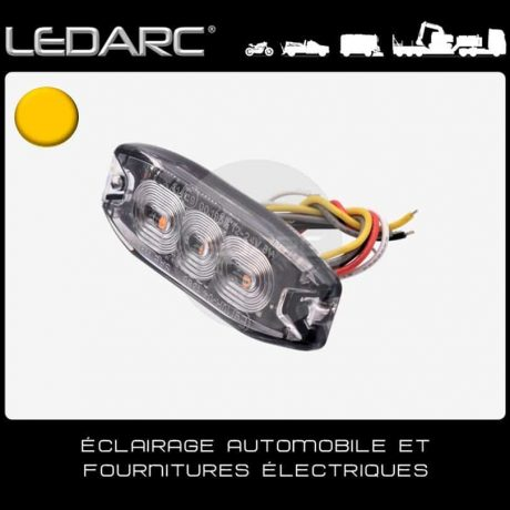 Feu-de-Pénétration-LED-Orange-7182A-Extra-Fin-3-LEDs-Balisage-12/24volts-de-LEDARC(10)