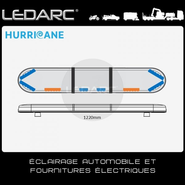 Rampe-Lumineuse-LED-Bleu-Hurricane-HUR122063ABC-1220mm-30-LEDs-Bleu-12-LEDs-Orange-de-LEDARC(10)