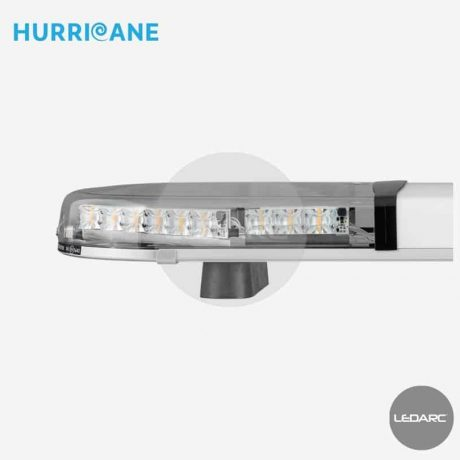 Rampe Lumineuse LED Hurricane, Cabochons transparents, 10-30 volts-LEDARC