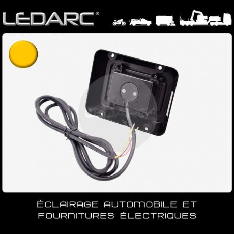 Feu-de-Pénétration-LED-Orange-DLED6A-Carré-6-LEDs-Balisage-10-30volts-de-LEDARC(40)