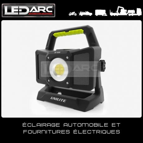 Projecteur-LED-Rechargeable-Aimanté-4500-Lumens-SP4500-Enceinte-Bluetooth-Unilite-de-LEDARC(10)