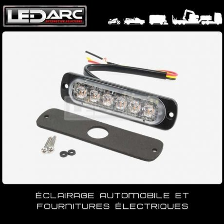 Feu-de-Pénétration-LED-ST6OR-Extra-Fin-12-LEDs-Bicolore-Orange-Rouge-Balisage-12V-24volts-Axixtech-Juluen-de-LEDARC(20)