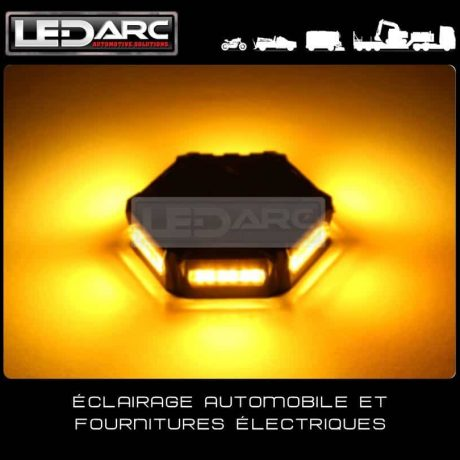 Gyrophare-LED-orange-MicroBright-ECER65-compact-fixation-3-points-Boardfree-technology-Extra-Plat-de-LEDARC(60)