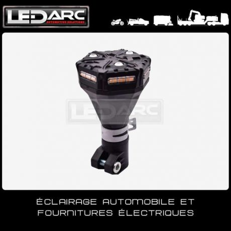 Gyrophare-LED-orange-MicroBright-ECER65-compact-fixation-DIN-Hampe-Pole-Mount-Boardfree-technology-Extra-Plat-de-LEDARC(20)